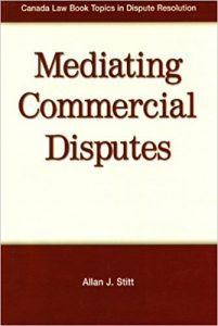 Mediating Commercial Disputes Cover