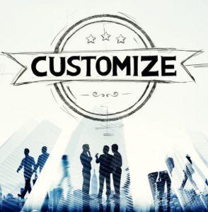 Customize Creative Concept