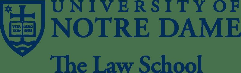Notre Dame Law School Logo