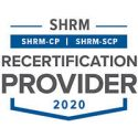 SHRM recertification logo